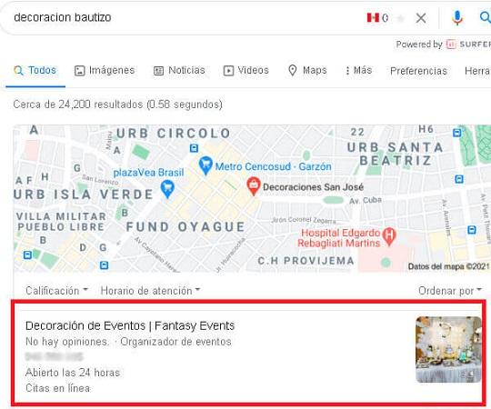 seo google my business peru