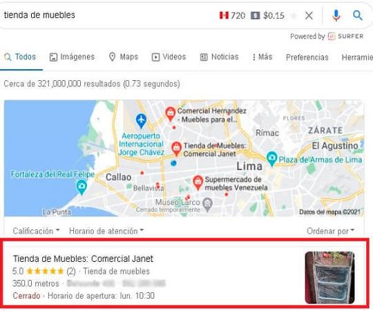 google maps seo
